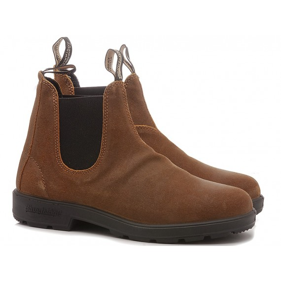 Blundstone Men's Ankle Boots Suede Tobacco 1911