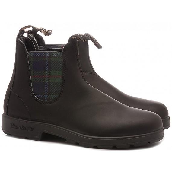 Blundstone Men's Ankle Boots Black Tartan 1614