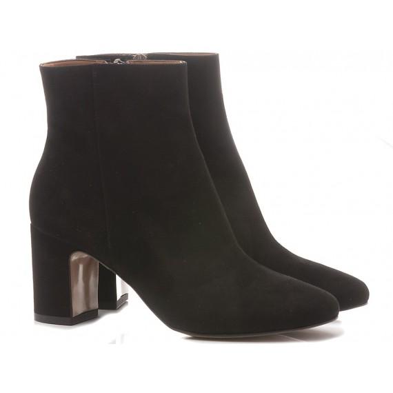 Les Autres Women's Ankle Boots Suede Black 727