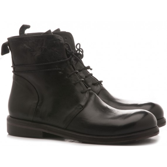 History 541 Women's Ankle Boots Alba3 Black