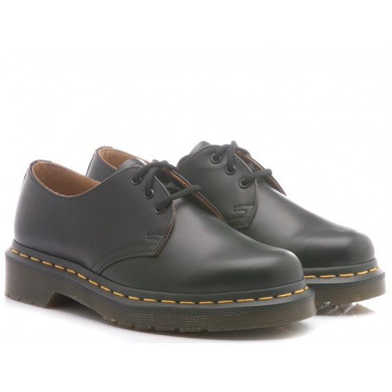 Dr. Martens Men's Shoes Black Leather Smooth 1461-59