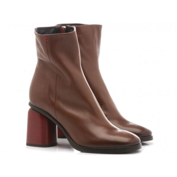 Halmanera Woman's Shoes Mummy04 Coffee