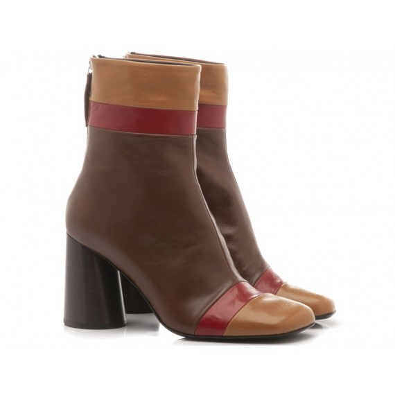 Halmanera Woman's Shoes Oriett06 Coffee