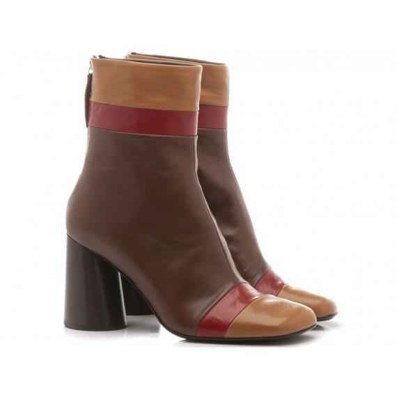 Halmanera Woman's Shoes Oriett06 Coffee