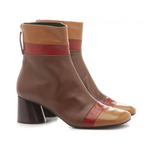 Halmanera Woman's Shoes Odile06 Coffee