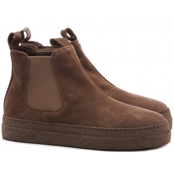 Non-Fashion Women's Ankle Boots Suede Almond