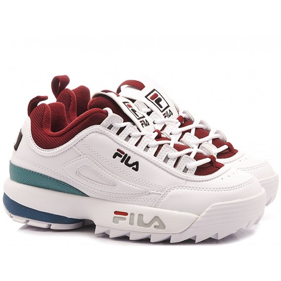 Fila Sneakers Donna Disruptor CB Low Wmn Bianco