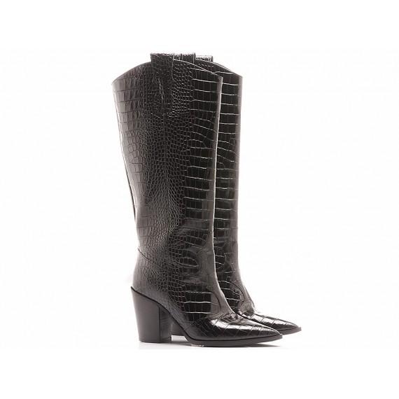 Les Autres Women's Boots Leather Black 572