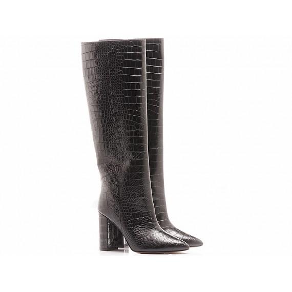 Les Autres Women's Boots Leather Black 1586