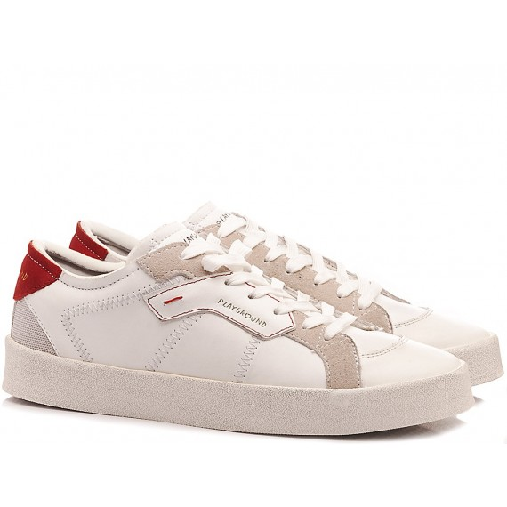 MOA Playground Sneakers Basse Uomo MP1038 Bianco