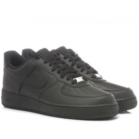 Nike Men's Sneakers Air Force 1 07 Black