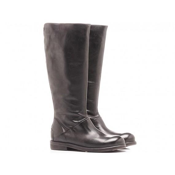 History 541 Women's Boots Albam09 Black