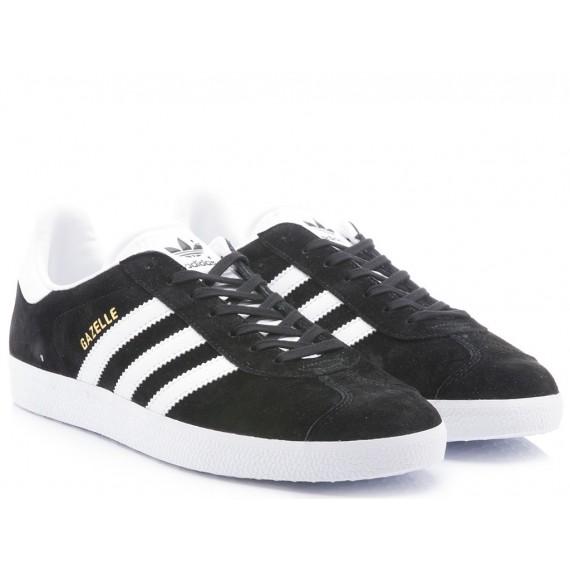 Adidas Women's Sneakers Gazelle Black-White BB5476