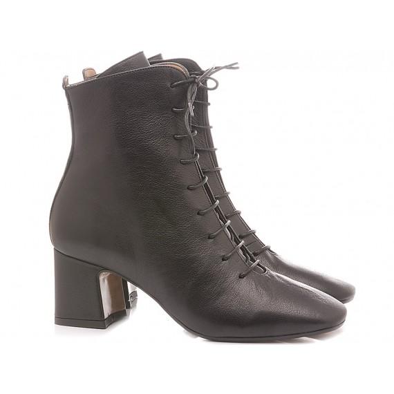 Les Autres Women's Ankle Boots Leather Black 686