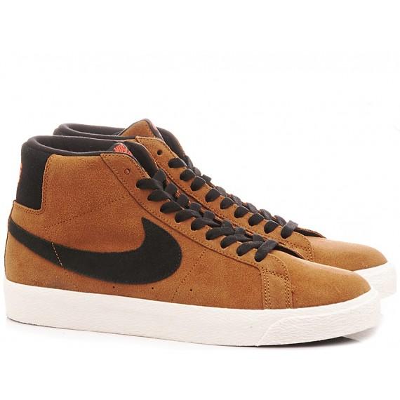 Nike Men's Sneakers SB Zoom Blazer Mid Tan