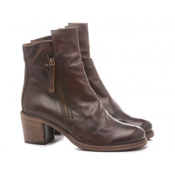 History 541 Women's Ankle Boots Roberta01 Coffee
