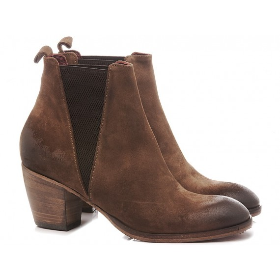 History 541 Women's Ankle Boots Martina19 Brown