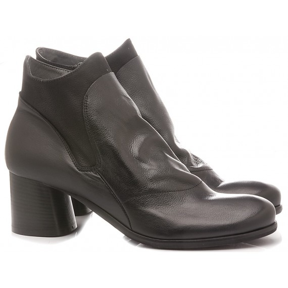 Lili Mill Women's Ankle Boots Black 6736