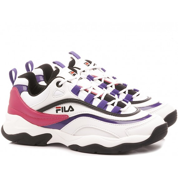 Fila Sneakers Donna Ray CB Low Wmn Bianco