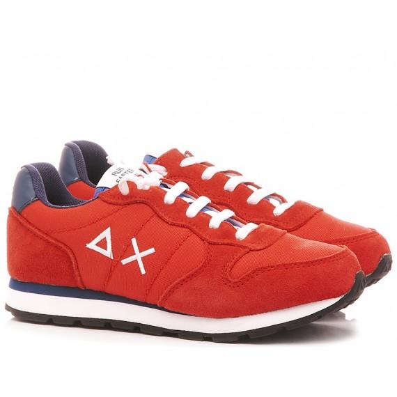 Sun 68 Children's Sneakers Z29301 Red