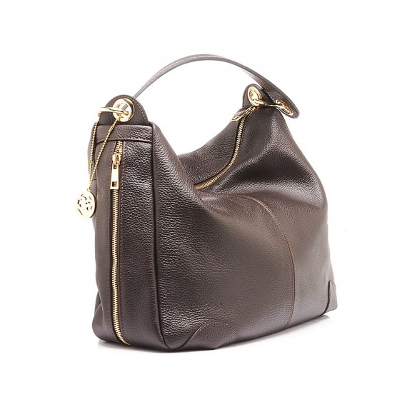 Scarlett Women's Bag Leather Ebony