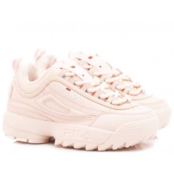 Fila Children's Sneakers Disruptor Kids Pink