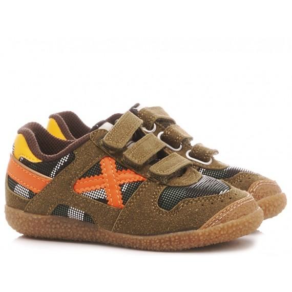 Munich Boy's Shoes-Sneakers Mini Goal VCO 1452 8128452