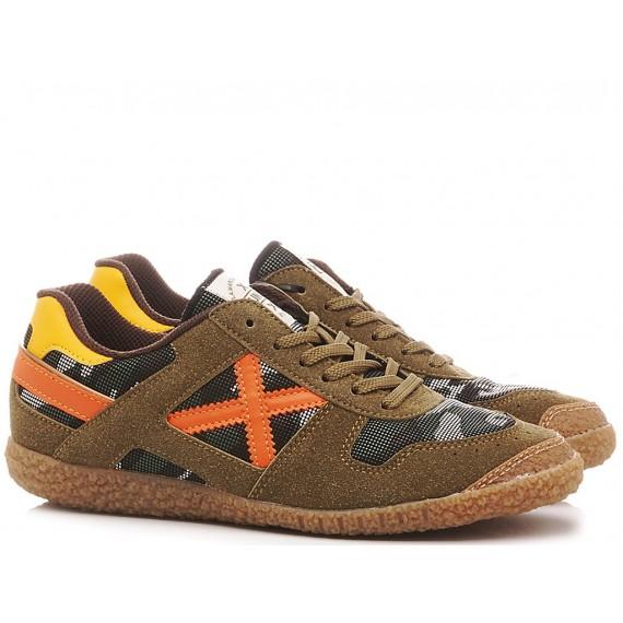 Munich Boy's Shoes-Sneakers Mini Goal 1452 8126452