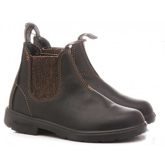Blundstone Children's Ankle Boots Black Bronze Glitter 1992