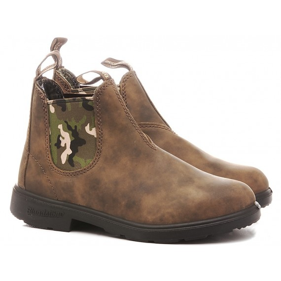 Blundstone Children's Ankle Boots Rustic Brown Kids 1640