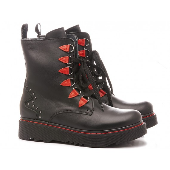 Chiara Luciani Children's Ankle Boots Leather Black 1943