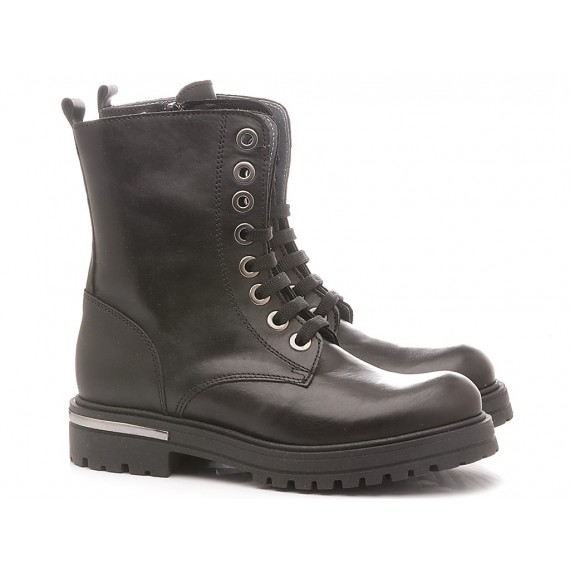 Chiara Luciani Children's Ankle Boots Leather Black 1971