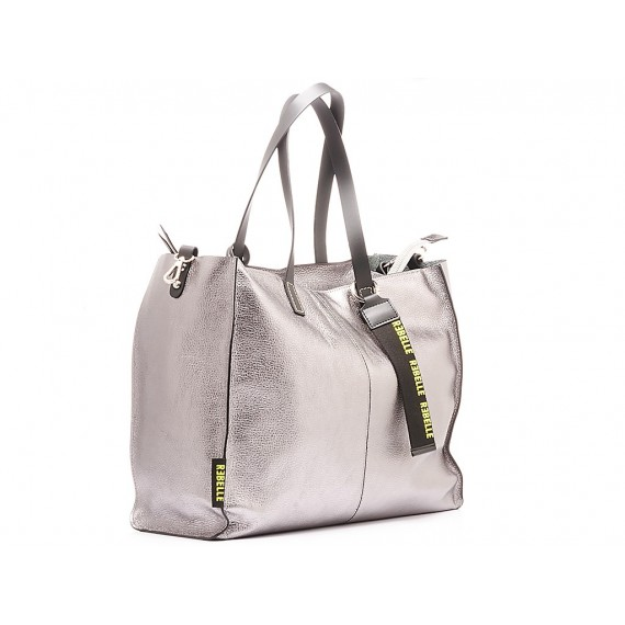 Rebelle Women's Bag Leather Pewter