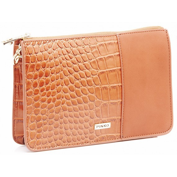 Pinko Women's Bag Miss Dottie Clutch Brown