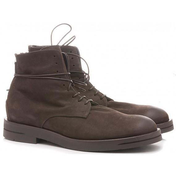 Ernesto Dolani Men's Ankle Boots Nabuk Ebony 2103