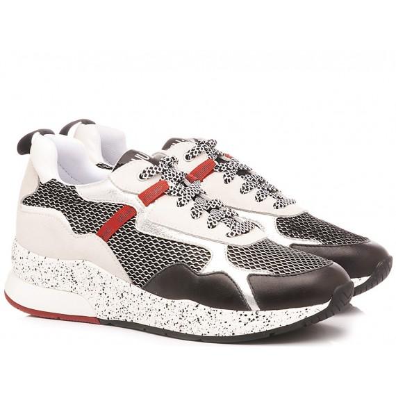Liu.Jo Women's Sneakers Karlie 35 Black-White