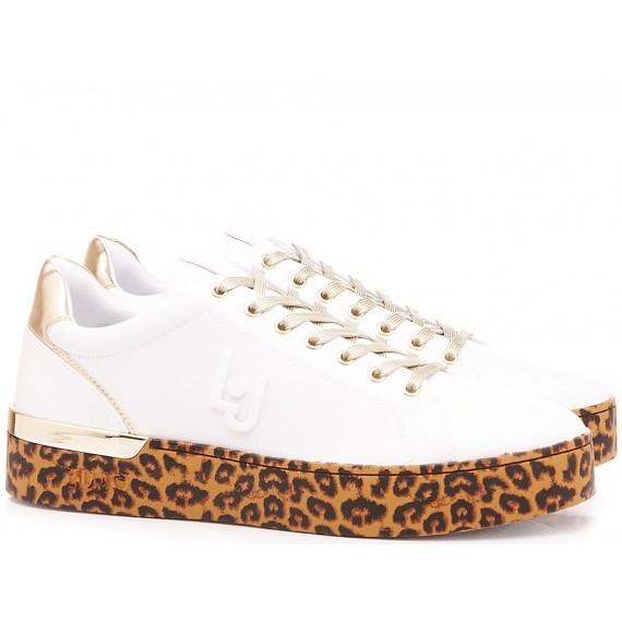 Liu.Jo Women's Sneakers Silvia 01 White-Gold