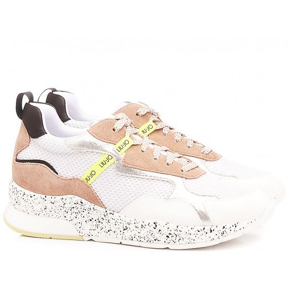 Liu.Jo Women's Sneakers Karlie 35 White-Nude