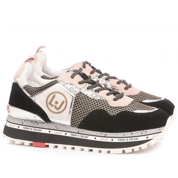 Liu.Jo Women's Sneakers Maxi Alexa Black