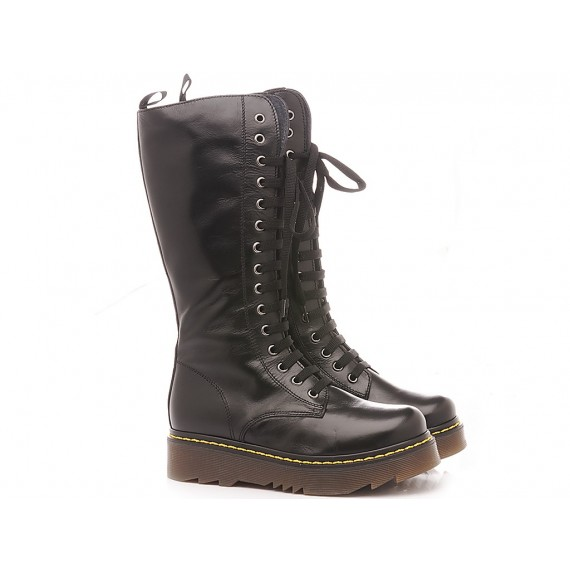 Chiara Luciani Children's Boots Leather Black 1912