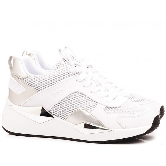 Guess Women's Shoes-Sneakers White