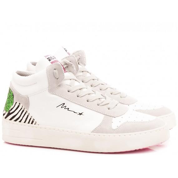 Méliné Women's Sneakers Leather White STRA1409
