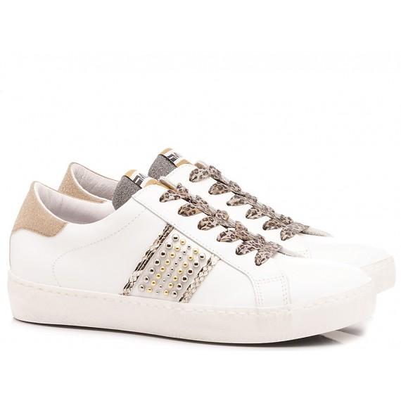 Méliné Women's Sneakers Leather White KUC1348