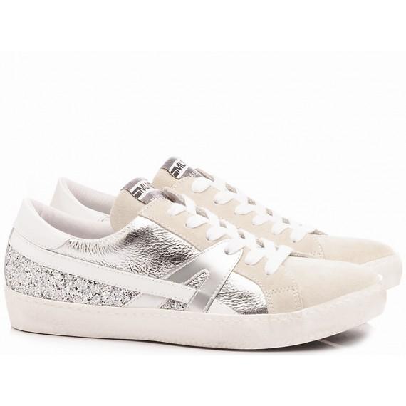 Méliné Sneakers Donna KUC1362 Argento
