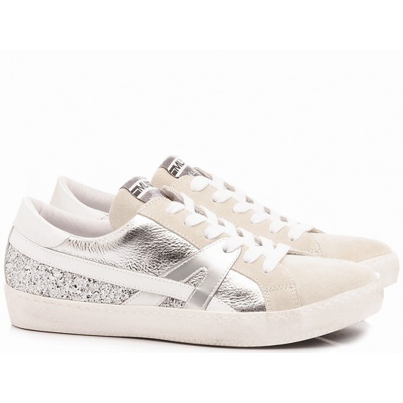 Méliné Women's Sneakers Leather White KUC1362