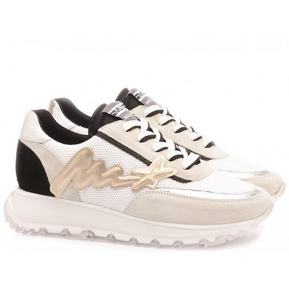 Méliné Women's Sneakers Leather White UG1408