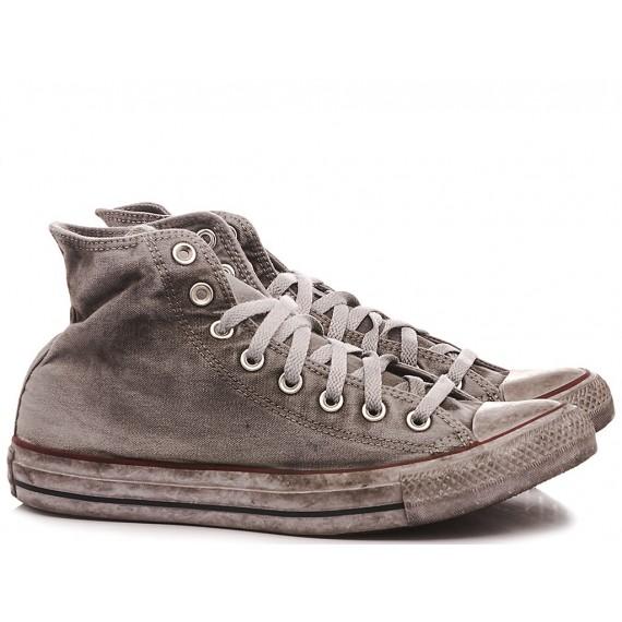 Converse All Star Sneakers Alte Donna CTAS Canvas LTD HI Gray
