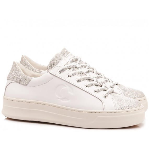 Crime London Sneakers Basse Donna Pelle Bianco 25240517B