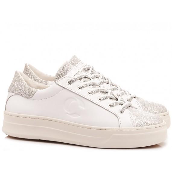 Crime London Women's Low Sneakers Sonik White