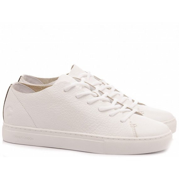 Crime London Sneakers Basse Donna Raw Lo Bianco